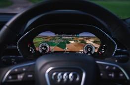 Audi Q3, 2019, virtual instrument panel