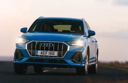 Audi Q3, 2019, nose