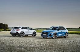 Audi Q3 45 TFSI e and Sportback, 2020, pair
