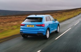 Audi Q3, 2019, rear