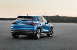 Audi Q3, 2018, rear