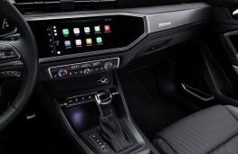Audi Q3, 2018, display screen
