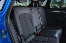 Audi Q3, 2019, rear seats