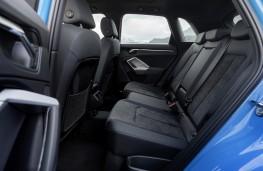 Audi Q3 45 TFSI e, 2020, rear seats