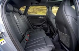 Audi RS Q3 Sportback, 2021, rear seats