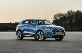 Audi Q3, 2018, side