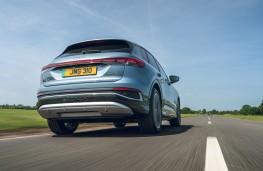 Audi Q4 e-tron Sport, 2021, rear