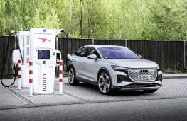 Audi Q4 Sportback e-tron, 2021, charging