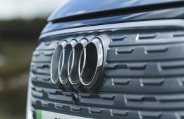 Audi Q4 e-tron Sport, 2021, grille