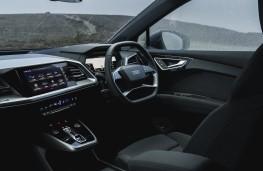 Audi Q4 e-tron Sport, 2021, interior