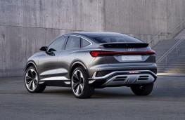 Audi Q4 e-tron Sportback concept, 2020, rear