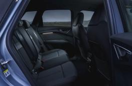 Audi Q4 e-tron Sport, 2021, rear seats