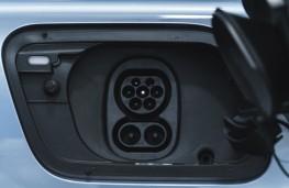 Audi Q4 e-tron Sport, 2021, charging point