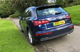 Audi Q5, 2017, tail