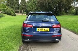 Audi Q5, 2017, back