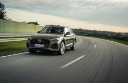 Audi Q5, 2017, front