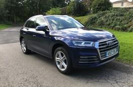 Audi Q5, 2017, front, static