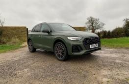 Audi Q5, 2020, front