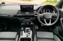 Audi Q5, 2020, interior