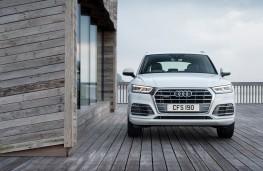 Audi Q5, 2017, nose