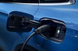 Audi Q5 55 TFSI e, 2019, charging point