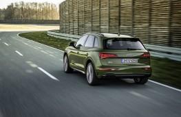 Audi Q5, 2020, rear