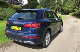 Audi Q5, 2017, rear