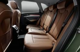 Audi Q5, 2020, rear seats