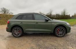 Audi Q5, 2020, side