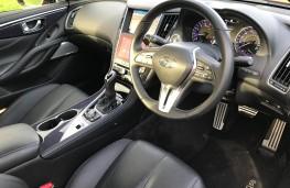 Infiniti Q60S, interior