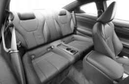 Infiniti Q60, 2016, rear seats