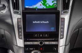 Infiniti Q60, 2017, screen