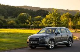 Audi Q7 e-tron Front