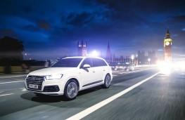 Audi Q7 e-tron Front Action