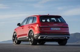 Audi Q7, 2019, rear
