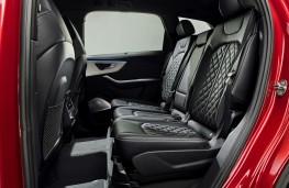 Audi Q7, 2019, rear seats
