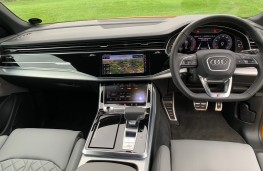 Audi Q8, 2018, dashboard