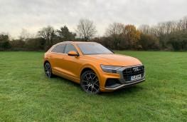 Audi Q8, 2018, front