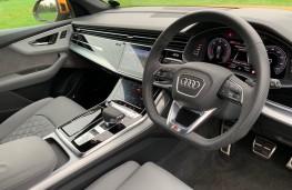 Audi Q8, 2018, interior