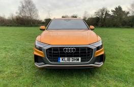 Audi Q8, 2018, nose