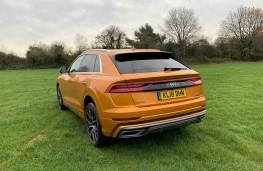 Audi Q8, 2018, rear