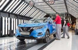 Nissan Qashqai production, 2017, Sunderland