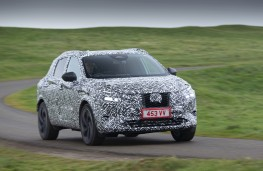 Nissan Qashqai, 2020, camouflaged, front