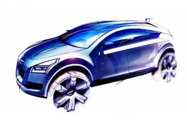 Nissan Qashqai concept design sketch