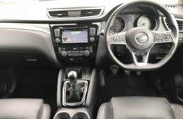 Nissan Qashqai, 2018, dashboard