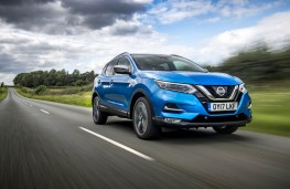 Nissan Qashqai, 2017, front, action