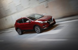Nissan Qashqai, 2018, front, action