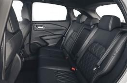 Nissan Qashqai, 2018, rear seats