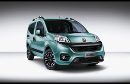 Fiat Qubo, 2016, front