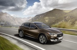 Infiniti QX30, front, action